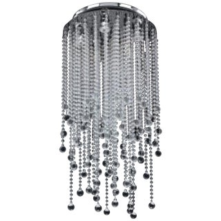 Glow Lighting Crystal Rain Chandelier