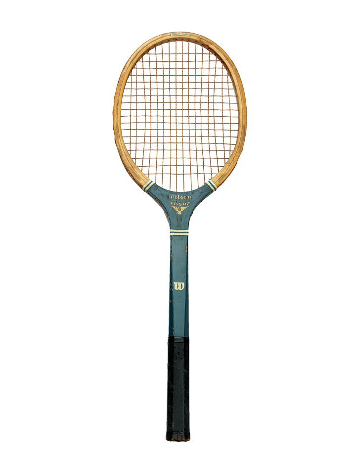 Vintage Tennis Raquet 38