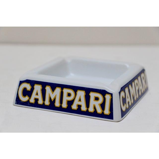 Image of Italian Porcelain Campari Ashtray
