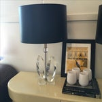 Image of Vintage Mid-Century Sculptural Acrylic Table Lamp Attributed to Van Teal