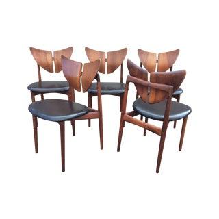 Kurt Ostervig Butterfly Chairs - Set of 5