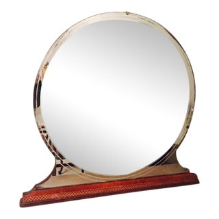 Art Deco Standing Mirror