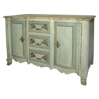18th Century Painted Buffet Cabinet
