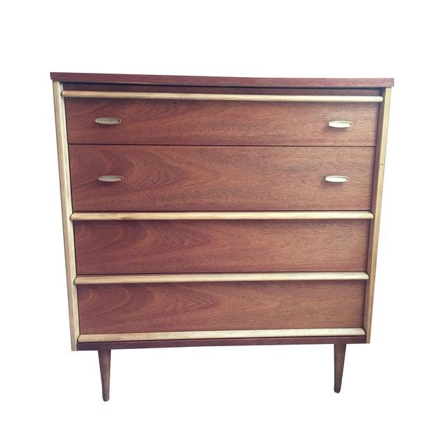 Image of Bassett Mid-Century Modern Dresser
