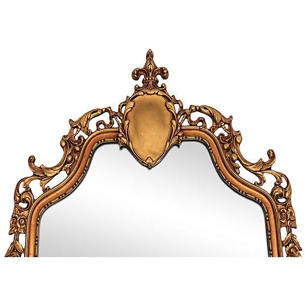 Louis XV Style Carved Giltwood Mirror - Image 3 of 6