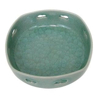 Japanese Celadon Console Bowl