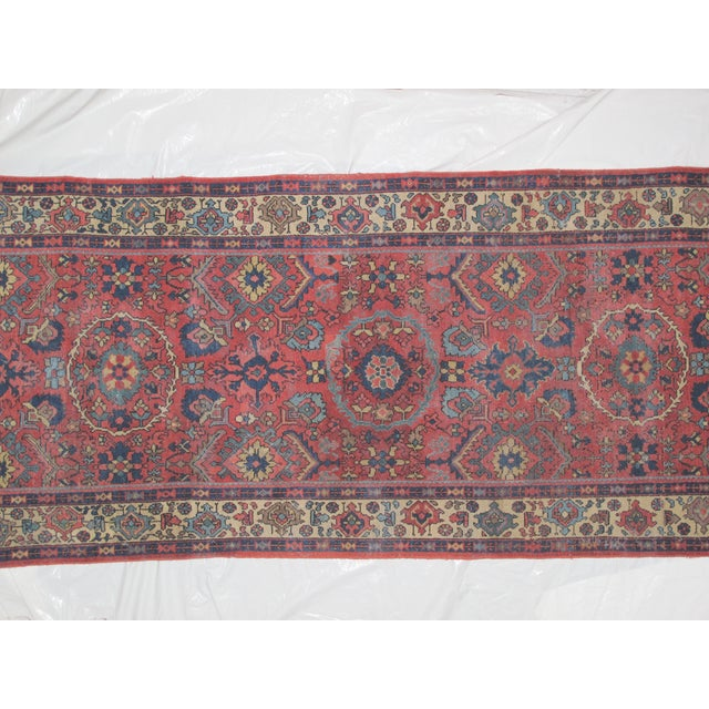 "Leon Banilivi Antique Sultanabad Rug - 4' X 9'3"" - Image 3 of 5"