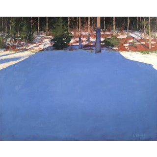 Stephen Remick Painting. Big Blue Shadow