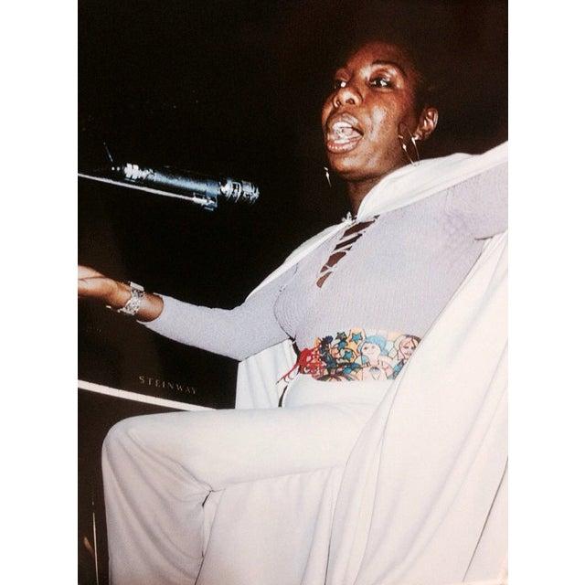 Original Nina Simone Photo, Signed - Image 1 of 2