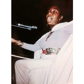 Original Nina Simone Photo, Signed