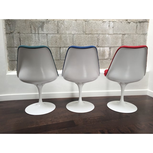 Eero Saarinen for Knoll Tulip Chairs - Set of 6 - Image 8 of 10