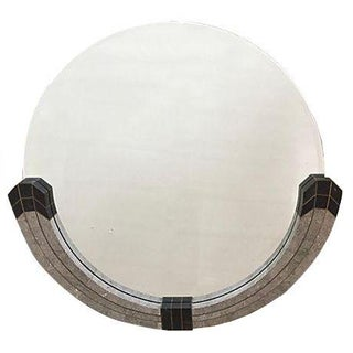 Maitland Smith Tessellated Stone Mirror