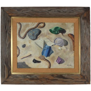 "Vintage ""Jewels of the Desert"" Framed Still Life"