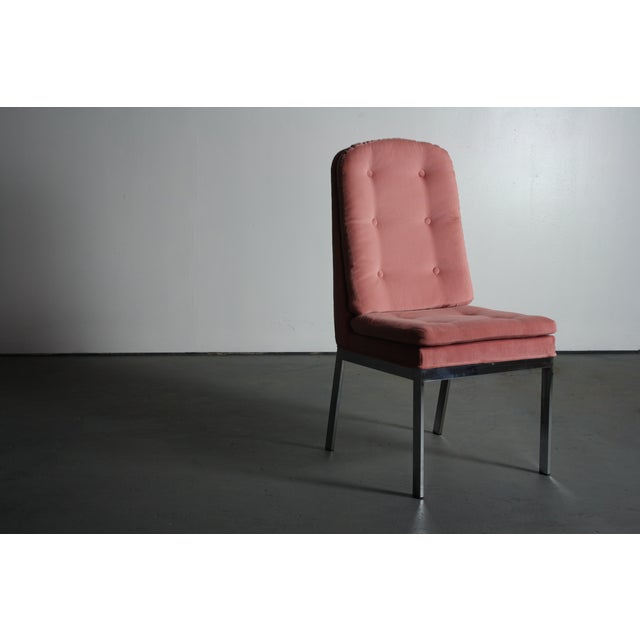 Milo Baughman for DIA Blush Dining Chairs - S/6 - Image 11 of 12