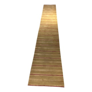 Beauvais Handmade Hall Runner - 2′6″ × 15′6″