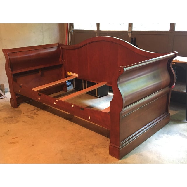 Wood Twin Sleigh Daybed Frame Chairish