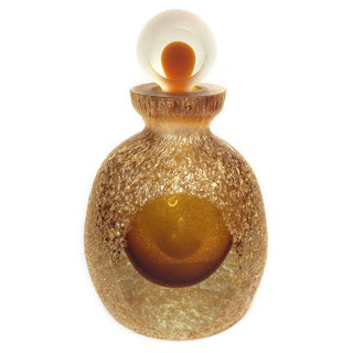 Pebbled Ambe Perfume Bottle