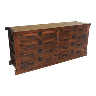 19th Century Japanese Chest or Console with Drawers