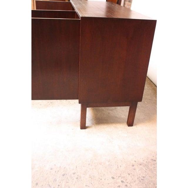 Danish Cabinet Maker Custom Oak Sideboard - Image 8 of 11