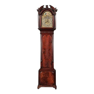 Period George III Mahogany Tallcase Clock