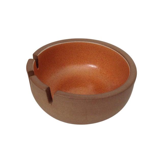 Heath Ceramics Orange Ashtray - Image 1 of 5