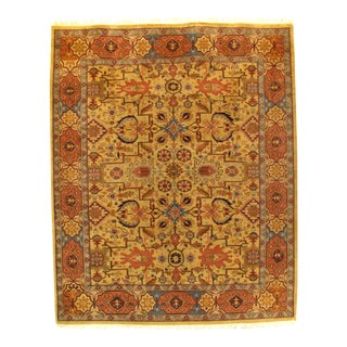 "Pasargad N Y Sultanabad Design Hand-Knotted Rug - 8'2"" X 10'1"""
