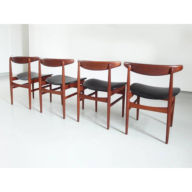 Danish Modern Dining Chair Set Attributed Poul Hundevad for Vamdrup  Stolefabrik   Image 3 of 8. Superb Danish Modern Dining Chair Set Attributed Poul Hundevad for