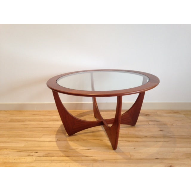 G-Plan Round Astro Glass Coffee Table - Image 5 of 5