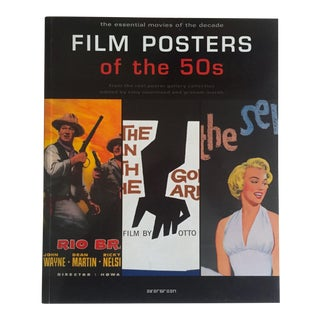 """Film Posters of the 50's"" Graphic Design Art Book"