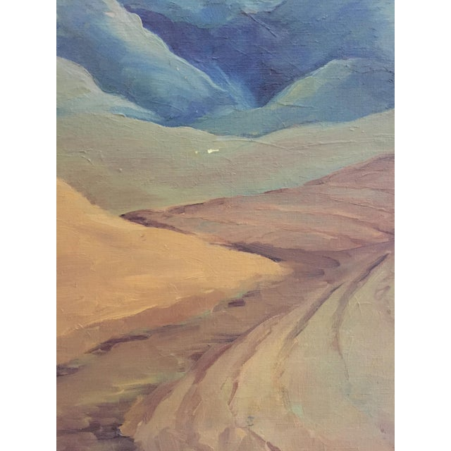 Mid-Century California Gold Will Frates Painting - Image 4 of 5