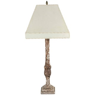 Italian Marble Table Lamp, circa 1920s