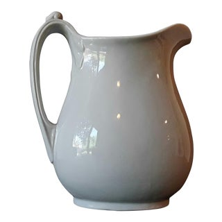 Antique English Mellor Taylor Ironstone Pitcher
