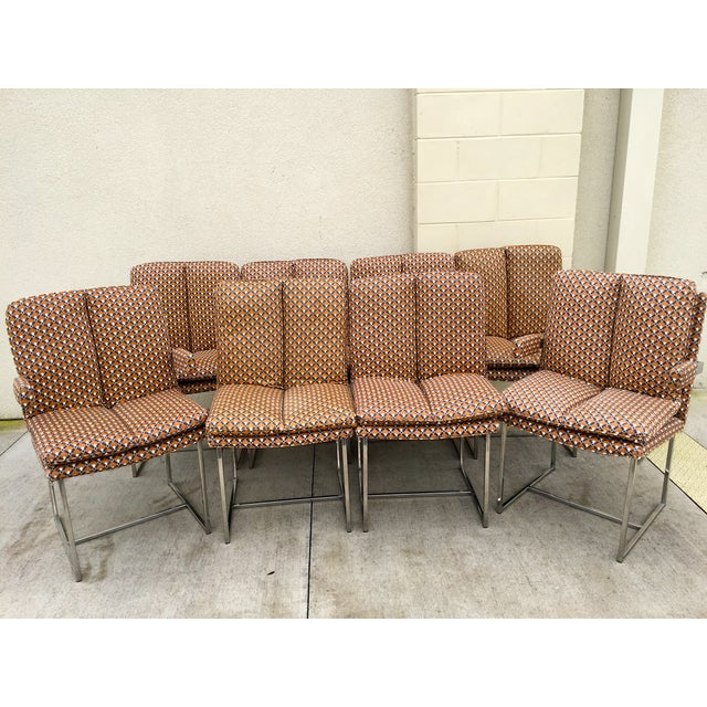 Milo Baughman ForThayer Coggin Chairs - Set of 8 - Image 2 of 11