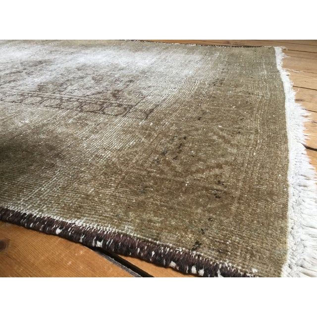 "Distressed Belouch Rug - 3'1"" x 5'6"" - Image 5 of 5"