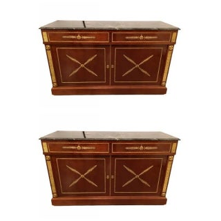 Russian Neoclassical Cabinets - Pair