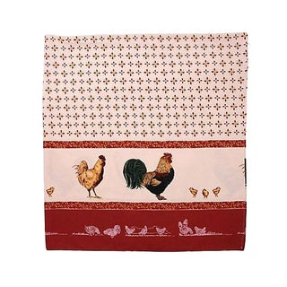 French Rooster Tablecloth