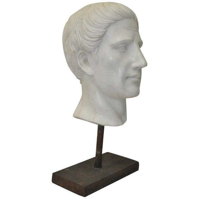 Italian Marble Roman Bust C.1950 - Image 1 of 6