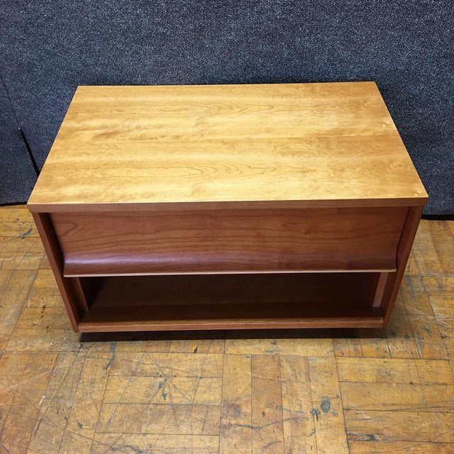 Blue Dot One Drawer Nightstands - A Pair - Image 7 of 8