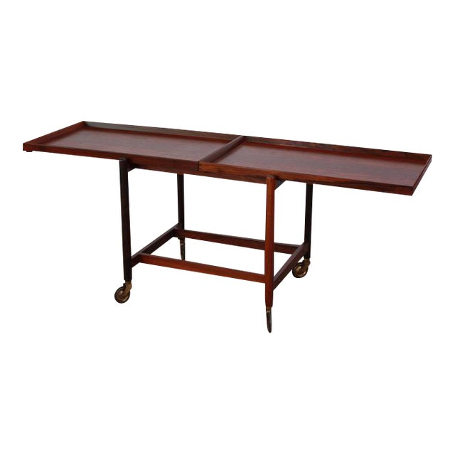 Poul Hundevad Rosewood Modular Bar Cart - Image 1 of 10