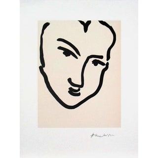 """Nadia Au Visage Penche"" by Henri Matisse"