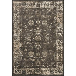 Gray Persian-Style Rug - 8'10 X 12'2