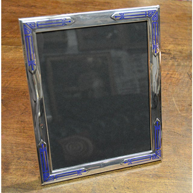 Art Deco Sterling Frame - Image 6 of 7