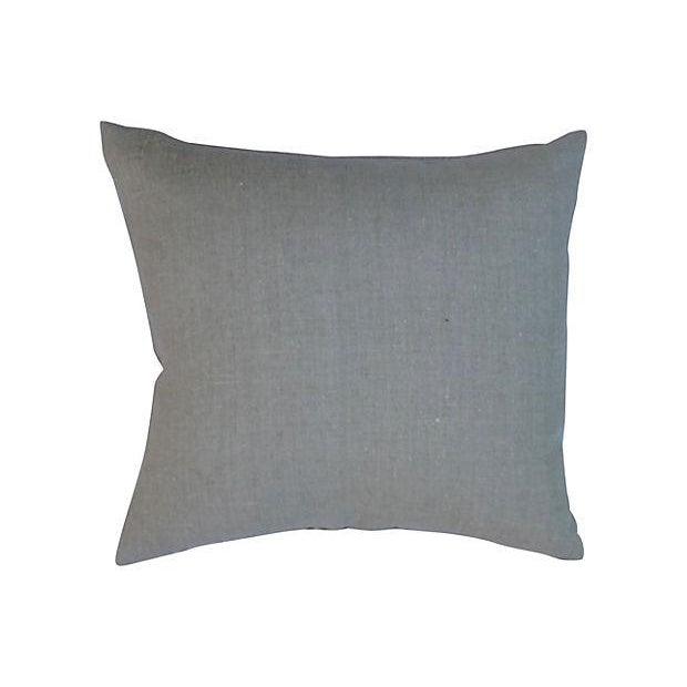 Black & Tan Bamboo Lattice Pillows - A Pair - Image 2 of 5