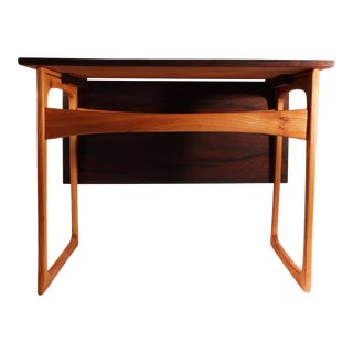 J. Ingvard Jensen Rosewood & Teak Side Table