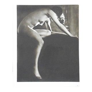 Vintage Mid Century Nude Photogravure