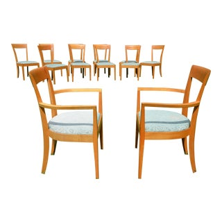 Thomas Moser Maple Harpswell Dining Chairs - A Pair