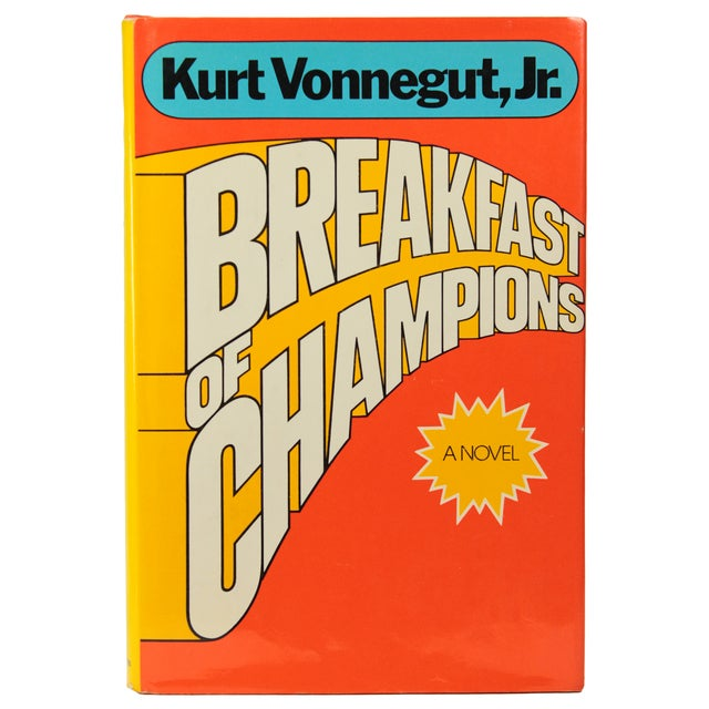 Breakfast of Champions by Vonnegut, 1st Edition - Image 1 of 7