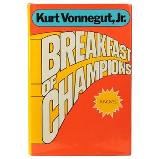 Breakfast of Champions by Vonnegut, 1st Edition