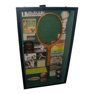 English Tennis Shadow Box