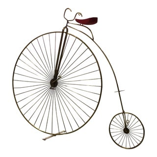 Curtis Jere Bicycle Table Top or Wall Sculpture